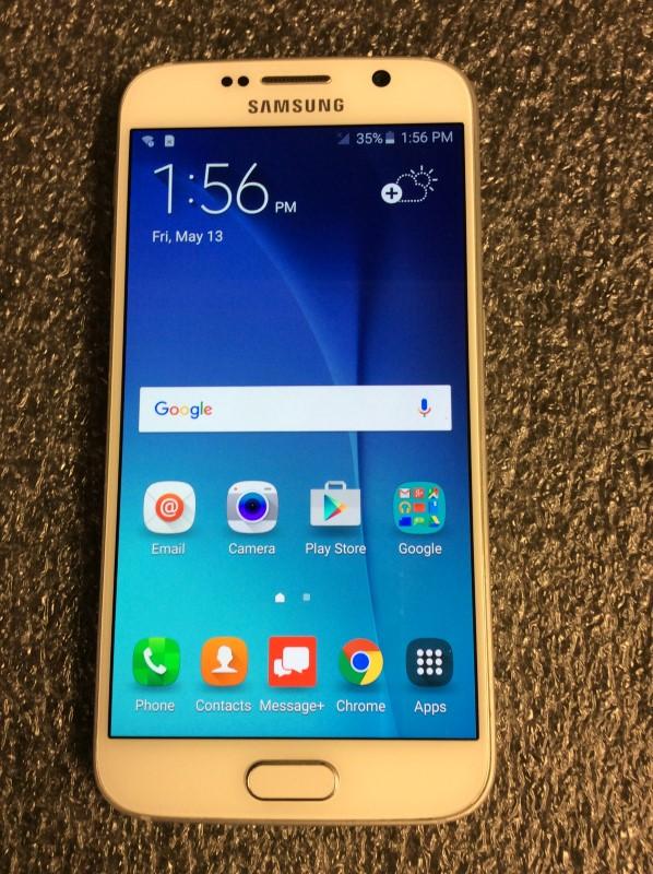Samsung Galaxy S6, 32GB, Black Sapphire VERIZON (SMG920VZKA)