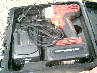 CHICAGO ELECTRIC Cordless Drill IMPACT DRIVER