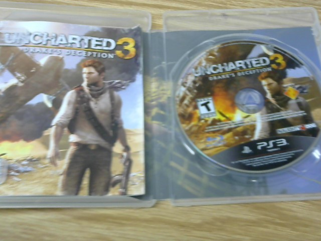 SONY Sony PlayStation 3 Game UNCHARTED 3 DRAKES DECEPTION PS3