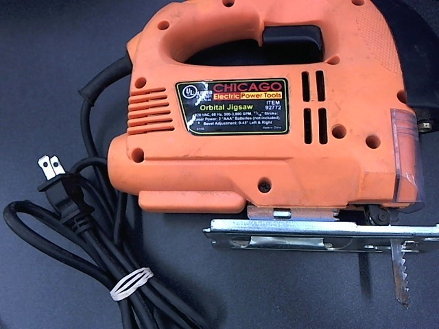 CHICAGO ELECTRIC Jig Saw 92772