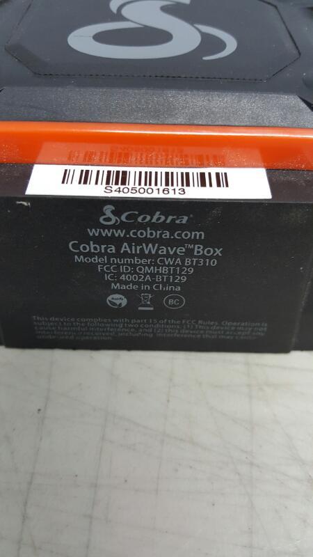 COBRA ELECTRONICS Speakers AIRWAVE BOX
