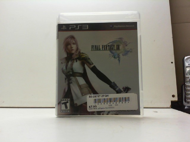 SONY Sony PlayStation 3 Game FINAL FANTASY XIII