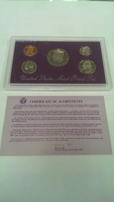 UNITED STATES 1990 MINT PROOF SET