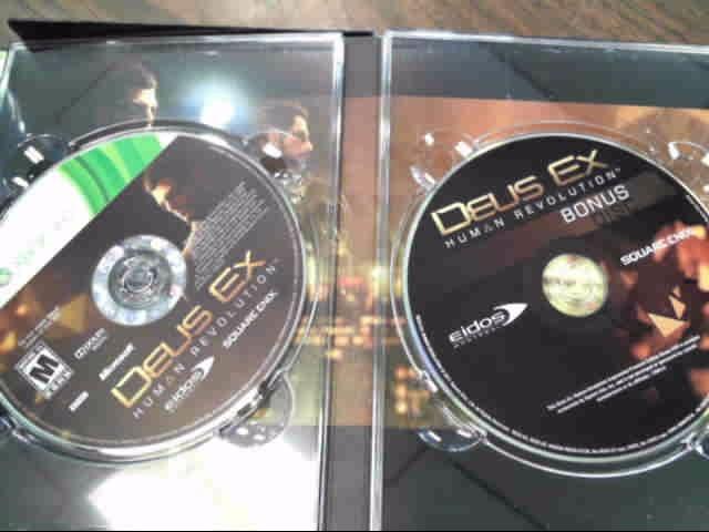 MICROSOFT Microsoft XBOX 360 Game DEUS EX HUMAN REVOLUTION AUGMENTED EDITION