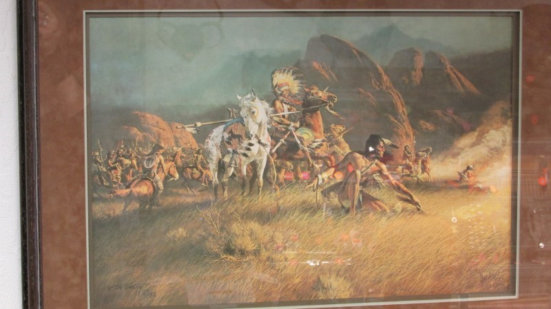 FRANK MCCARTHY - ARTIST Print SMOKE WAS THEIR ALLY PRINT