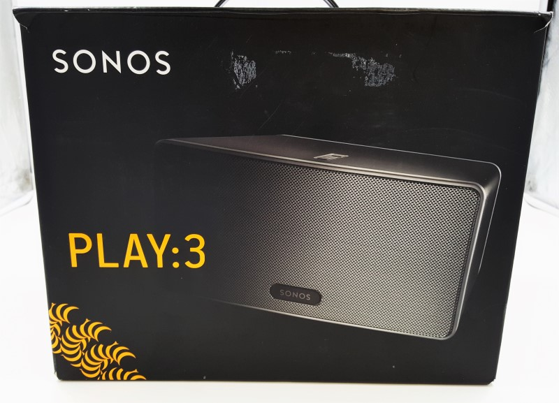 Sonos PLAY:3 Wireless Speaker (Black)