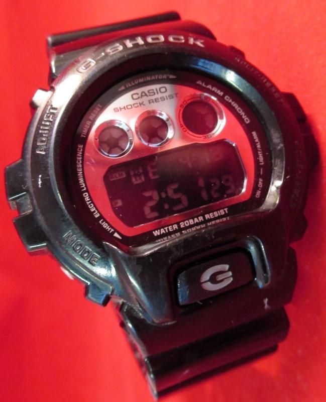 CASIO Gent's Wristwatch G SHOCK DW6900NB