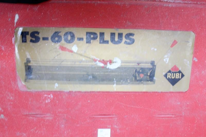 RUBI Tile Cutter TS 60 PLUS