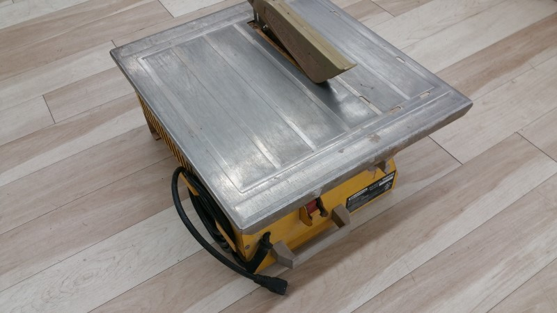 Work Force Tile Saw