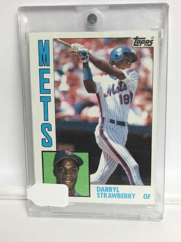 TOPPS DARRYL STRAWBERRY #182