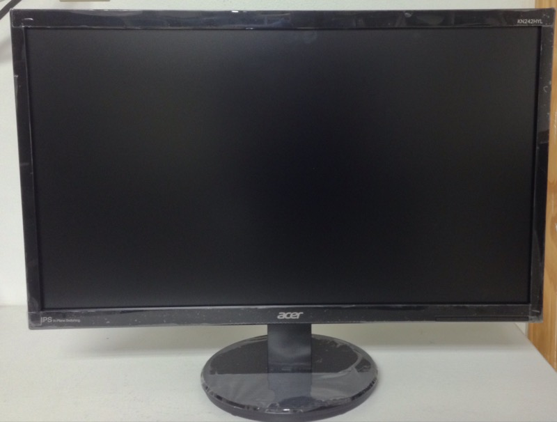 """Acer KN242HYL Black 23.8"""" HDMI Widescreen LED Monitor"""