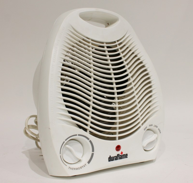 DURAFLAME DFH-NH-1-T ELECTRIC PORTABLE 1500W Desktop HEATER *