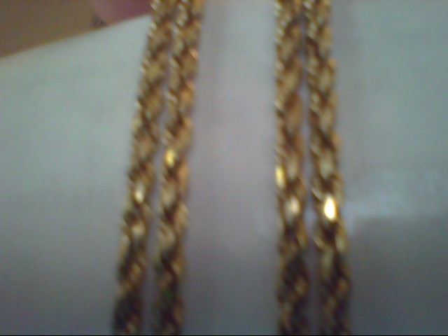 Gold Rope Chain 14K Yellow Gold 13.3g