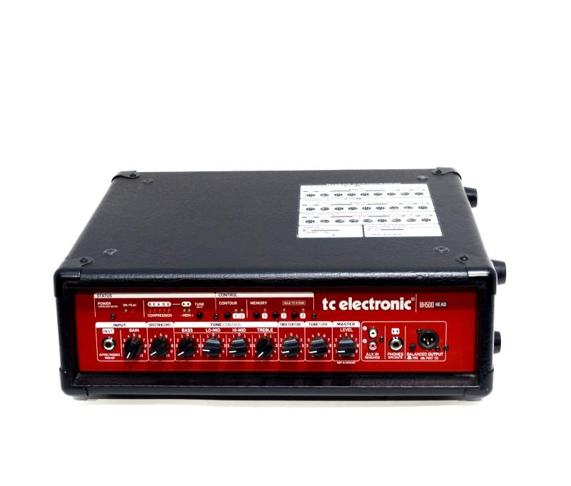 TC Electronic BH500 500W Bass Head Guitar Amplifier *Free Shipping*