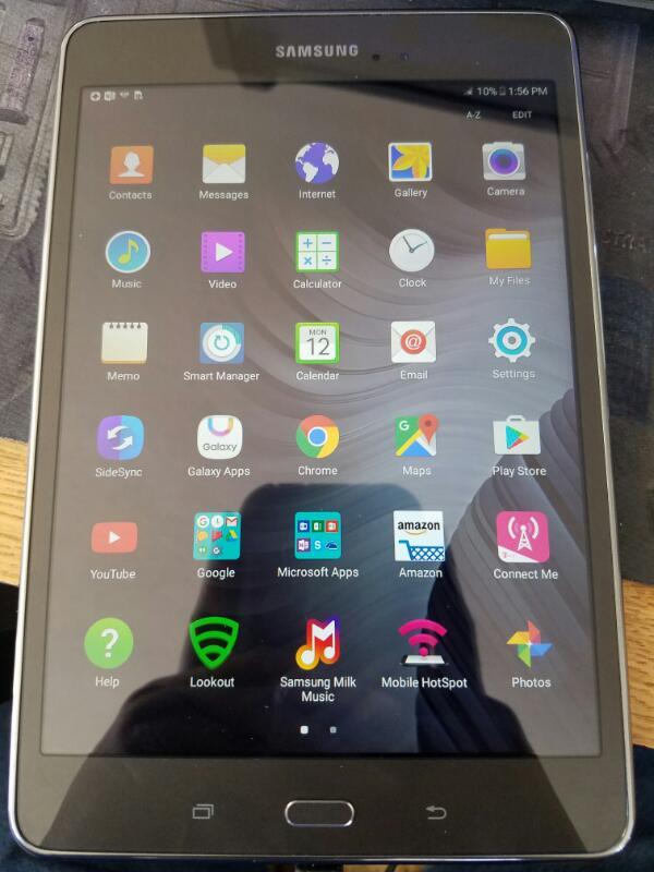 SAMSUNG Tablet SM-T3571