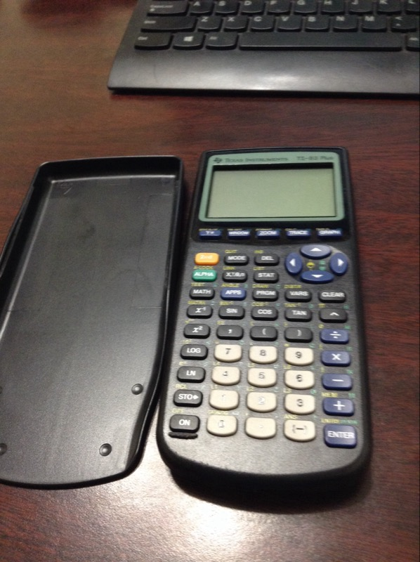 TEXAS INSTRUMENTS Calculator TI-83 PLUS