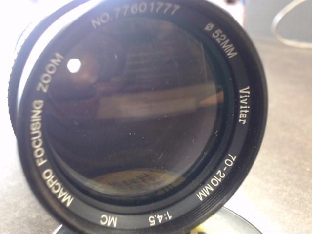 Vivitar Series 1 VMC 70-210mm f/3.5 MF Lens For Canon