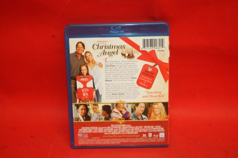 Christmas Angel Blu Ray (2012) Della Reese Kevin Sorbo