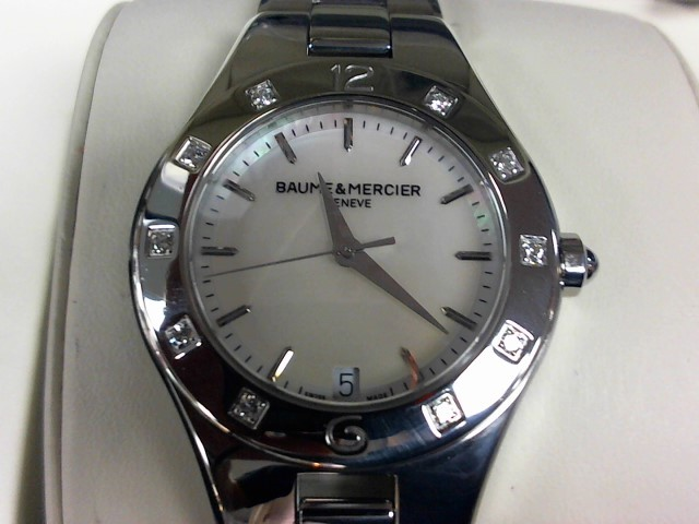 BAUME & MERCIER Lady's Wristwatch 10071 LINEA