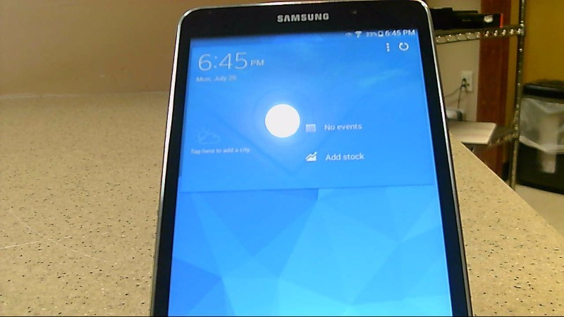 Preowned Samsung SM-T230NU 8GB Tablet