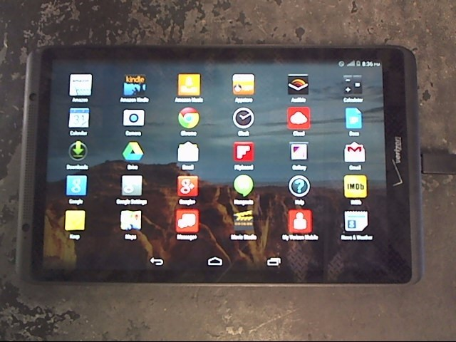 VERIZON Tablet ELLIPSIS QTAQZ3
