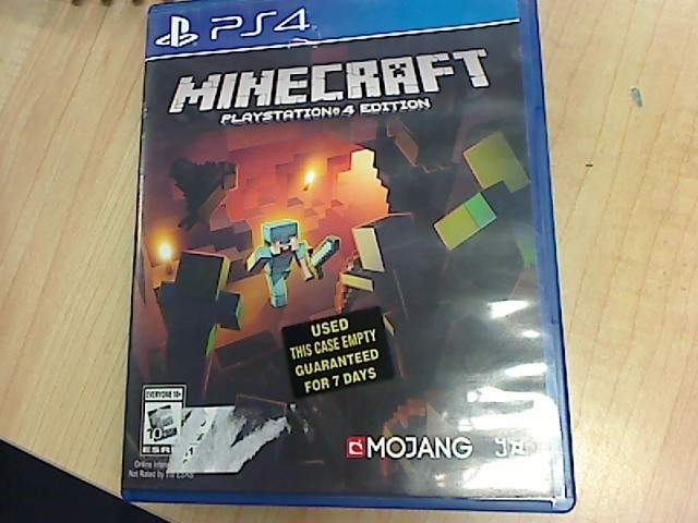 SONY Game MINECRAFT PLAYSTATION 4 EDITION