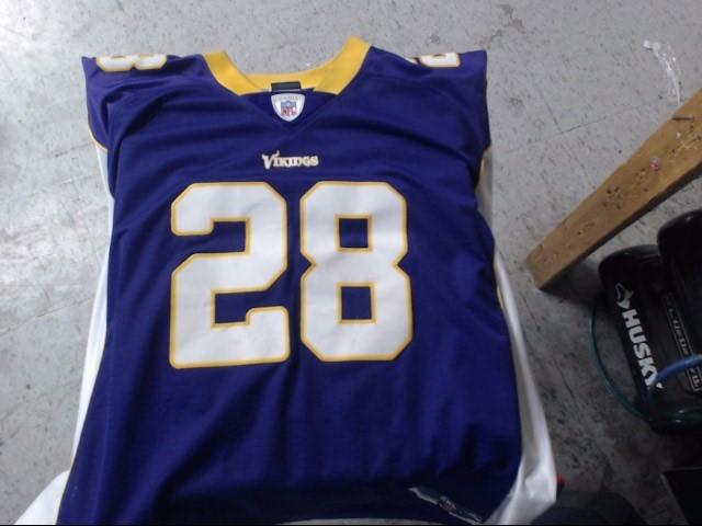 REEBOK Shirt NFL JERSEY ADRIAN PETERSON #28