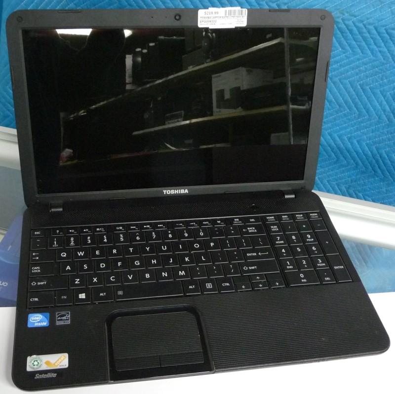 TOSHIBA Laptop/Netbook SATELLITE C855-S5347