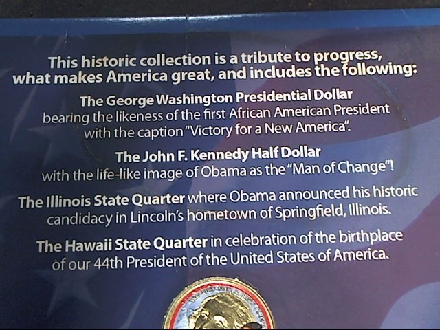 BARACK OBAMA PRESIDENTIAL COIN COLLECTION