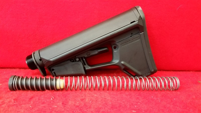 Magpul ACS Black Adjustable AR Stock - Tube / Stock / Buffer / Spring