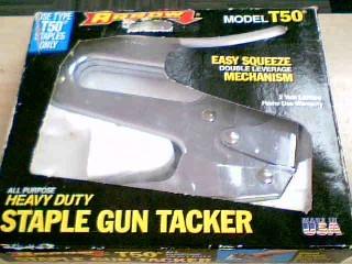 ARROW FASTENER Hand Tool T-50 STAPLE GUN