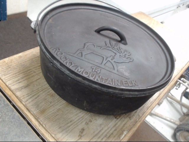 "CAMP CHEF Camping 14"" ROCKY MOUNTAIN DUTCH OVEN"