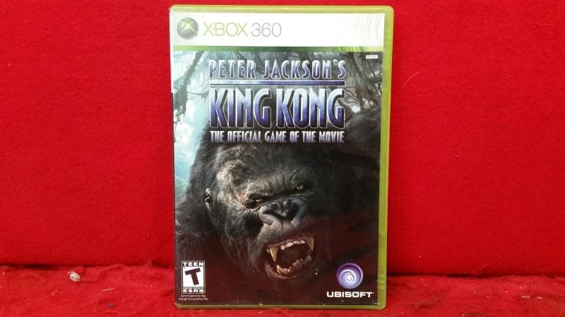 MICROSOFT Microsoft XBOX Game PETER JACKSONS KING KONG
