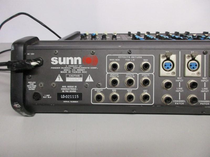 SUNN MX4112 12 CHANNEL MIXER, PARTS/REPAIR