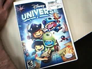 NINTENDO Nintendo Wii Game DISNEY UNIVERSE