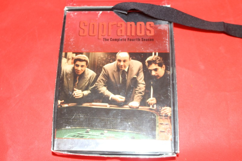 The Sopranos - The Complete Fourth Season (DVD, 4-Disc Set)