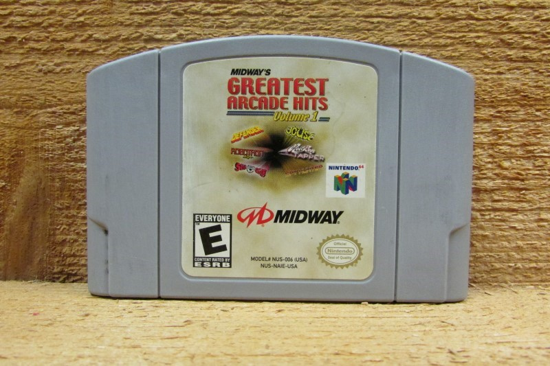 NINTENDO Nintendo 64 Game MIDWAYS GREATEST ARCADE HITS VOLUME 1 N64