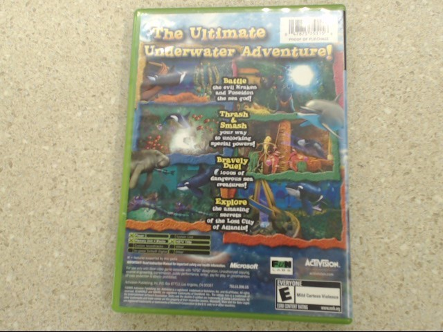 SeaWorld: Shamu's Deep Sea Adventures (Microsoft Xbox, 2005)