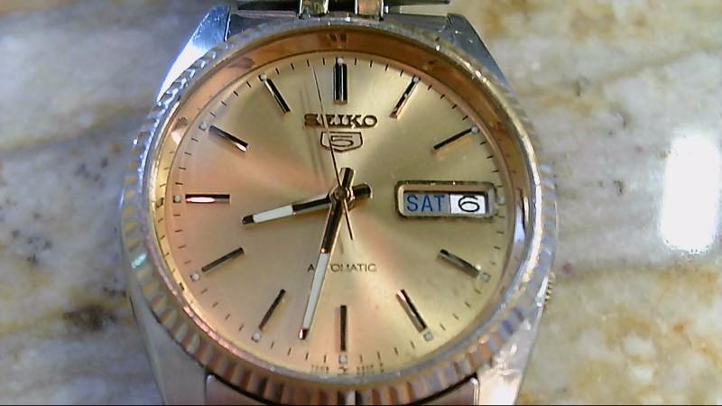 Vintage 1985 Seiko 7009-3110 2 Tone Wristwatch