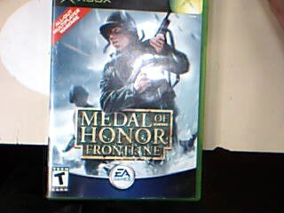MICROSOFT Microsoft XBOX Game XBOX MEDAL OF HONOR FRONTLINE