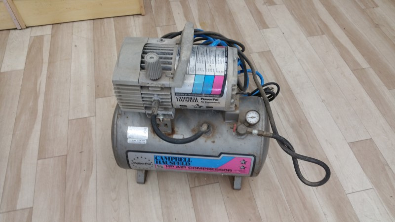 CAMPBELL HAUSFELD AIR COMPRESSOR MT5012