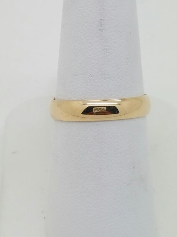 L'S 14KT Lady's Gold Wedding Band BAND 14K Yellow Gold 1.7dwt