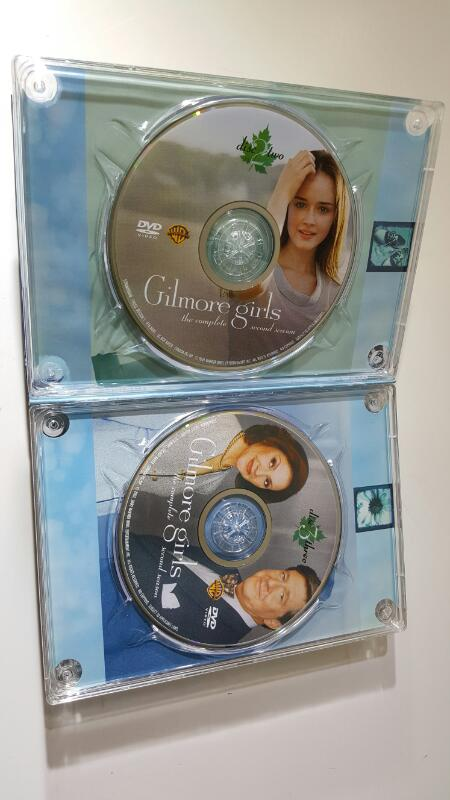 DVD BOX SET  GILMORE GIRLS THE COMPLETE SIXTH SEASON