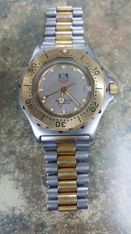 TAG HEUER Gent's Wristwatch 934 206