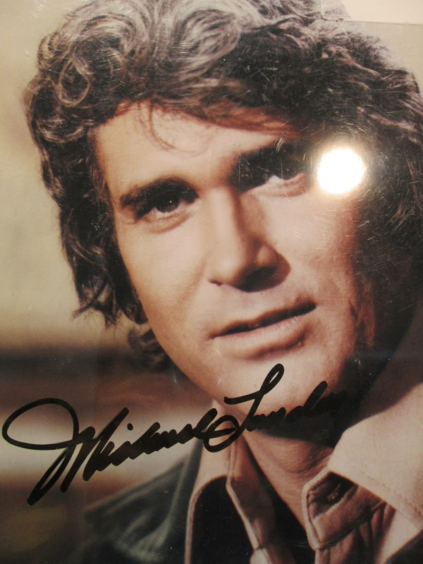Autographed Photo of Michael Landon