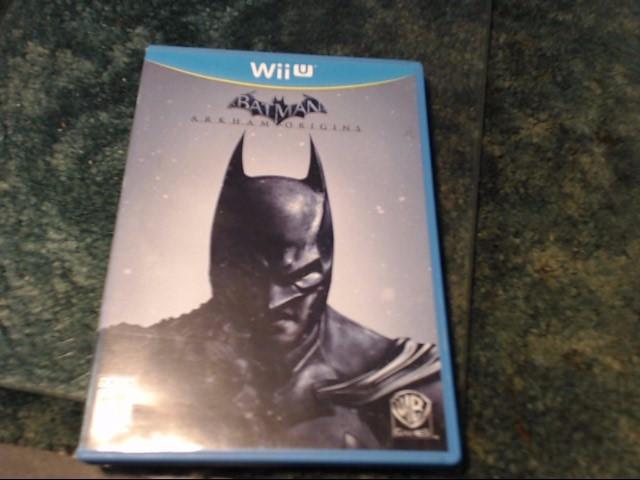 NINTENDO Nintendo Wii U Game BATMAN ARKHAM ORIGINS WII U