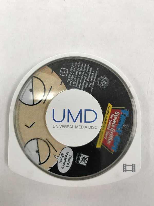 SONY PSP UMD MOVIE FAMILY GUY STEWIE GRIFFIN THE UNTOLD STORY