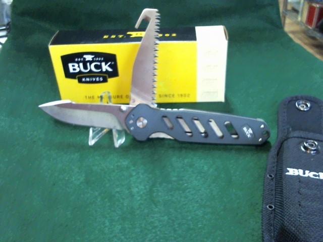 BUCK KNIVES Pocket Knife Alpha Crosslock 0183GRS-B