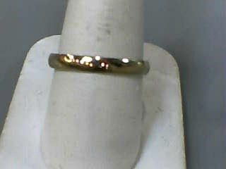 Gent's Gold Wedding Band 14K Yellow Gold 1.2dwt Size:11