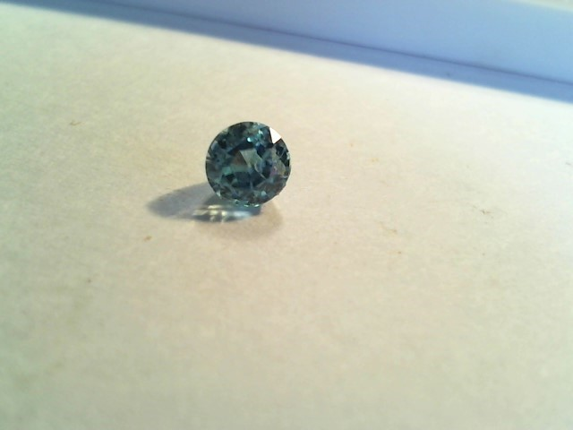 Blue Zircon 1.05ct sea blue